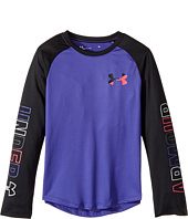 Under Armour Kids - Splatter Raglan Tee (Little Kids)