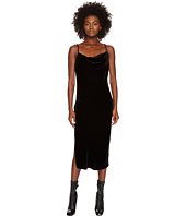 McQ - Midi Camisole Soft Velvet Dress