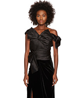 Marchesa - Satin Bow Top