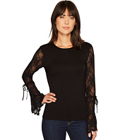 Vince Camuto - Flared Lace Sleeve Top