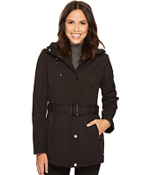 MICHAEL Michael Kors - Snap Front Belted Softshell M522207C