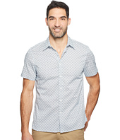 Perry Ellis - Short Sleeve Micro Tile Shirt