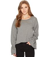 kensie - Cozy Fleece Sweatshirt KS0K3606