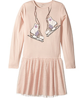 Stella McCartney Kids - Primrose Skate Printed Dress w/ Tulle Skirt (Toddler/Little Kids/Big Kids)