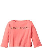 Sonia Rykiel Kids - Long Sleeve Logo T-Shirt (Toddler/Little Kids)