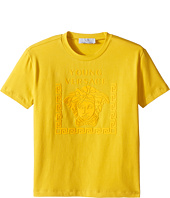 Versace Kids - Short Sleeve Medusa Logo T-Shirt (Toddler/Little Kids)