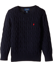 Polo Ralph Lauren Kids - Cable Knit Cotton Sweater (Toddler)
