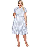 Unique Vintage - Plus Size Alexis Shirtdress