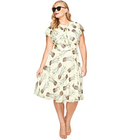 Unique Vintage - Plus Size Dixon Day Dress