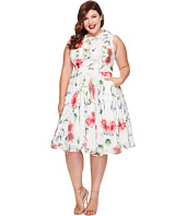 Unique Vintage - Plus Size Chiffon Olson Dress