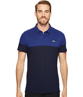 Lacoste - Short Sleeve Golf Ultra Dry Tech Pique Color Block Polo