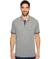 Lacoste - Short Sleeve Semi Fancy 2 Ply Pique Polo - Slim Fit
