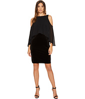 Laundry by Shelli Segal - Velvet Cold Shoulder Cocktail