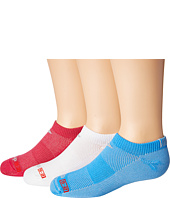 Drymax Sport - Thin Running No Show 3-Pair (Little Kid/Big Kid)
