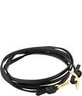 Miansai - Mini Modern Anchor Leather Bracelet