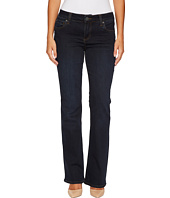 KUT from the Kloth - Petite Natalie High-Rise Bootcut in Immeasurable w/ Euro Base Wash