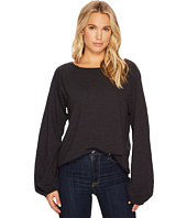 HEATHER - Mia Cotton Slub Slouchy Sleeve Pullover