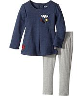 Hudson Kids - Two-Piece Heather Jersey Tunic w/ Stretch Jersey Leggings (Toddler)