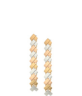 Robert Lee Morris - Chevron Linear Earrings