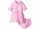 Striped Shirtdress & Bloomer (Infant)
