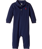 Ralph Lauren Baby - Cotton Mesh Polo Coverall (Infant)
