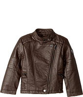 Urban Republic Kids - Buffalo Faux Leather Moto (Toddler)