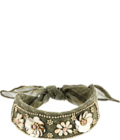 Betsey Johnson - Beaded Blooms Choker