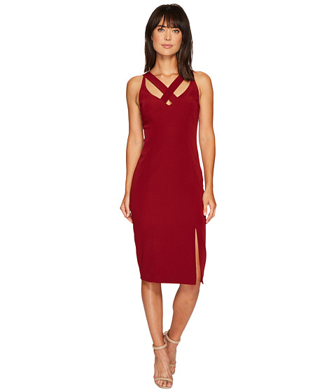 Laundry by Shelli Segal Cross Front Spaghetti