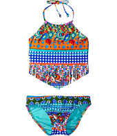 Hobie Kids - Seam Weaver Fringe Tankini and Hipster (Big Kids)