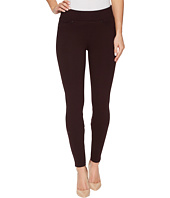 Liverpool - Piper Hugger Pull-On Leggings in Silky Soft Ponte Knit with Lift and Shape Qualities in Aubergine