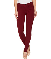 Liverpool - Madonna Five-Pocket Leggings in Silky Soft Ponte Knit in Wine