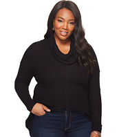 Lucky Brand - Plus Size Cowl Neck Thermal