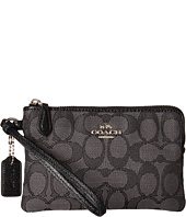 COACH - Box Program Signature Jacquard Small Wristlet
