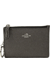 COACH - Box Program Metallic Mini ID Skinny
