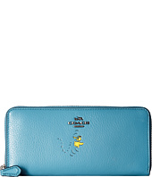 COACH - Box Program Snoopy Slim Accordion Zip