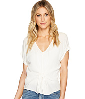 Lucky Brand - Tie Front Top