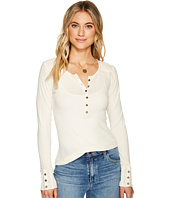 Lucky Brand - Embroidered Thermal Top