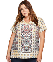Lucky Brand - Plus Size Morrocan Tile Tee