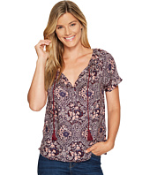 Lucky Brand - Printed Floral Top