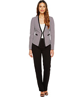 Tahari by ASL - Novelty Long Sleeve Jacket & Pant Suit