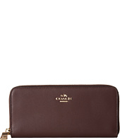 COACH - Smooth Slim Accordian Zip Wallet