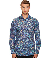 Eton - Contemporary Fit Bird Print Shirt