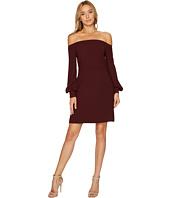 JILL JILL STUART - Off the Shoulder Long Sleeve Short Dress