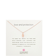 Dogeared - Love and Protection, Heart Hamsa Necklace