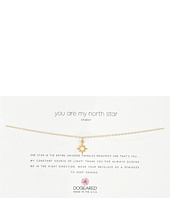 Dogeared - You Are My North Star Choker Necklace, Open North Star Charm