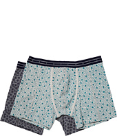 Scotch & Soda - Boxer Shorts with All Over Print on Mélange Base