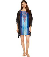 Jantzen - Watercolor Placement Caftan Cover-Up