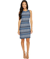 Karen Kane - Fitted Jacquard Dress