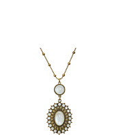 Lucky Brand - Mother-of-Pearl Squash Blossom Pendant Necklace