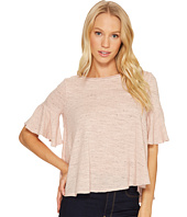 Three Dots - Nepps Jersey Easy Flounce Top